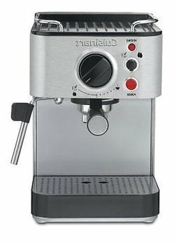 Cuisinart EM-100 1000-Watt 15-Bar Espresso Maker, Stainless