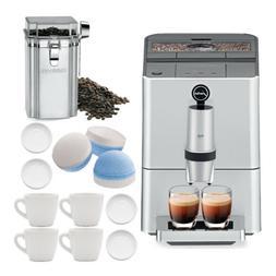 Jura ENA Micro 5 Double Action Automatic Coffee Machine, Sil