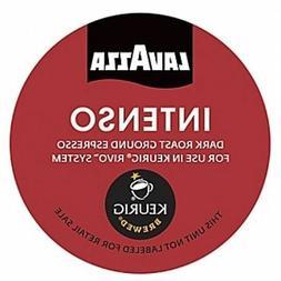 Lavazza Espresso Intenso Coffee 18 to 108 Count Keurig Rivo