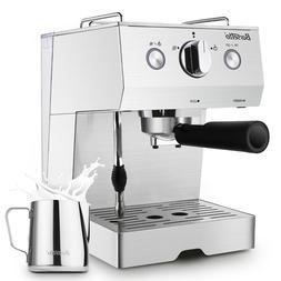 Barsetto Espresso Machine 15 Bar with Milk Frother Espresso