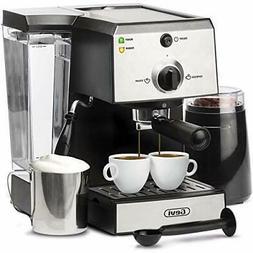 Espresso Machines 15 Bar Coffee Machine with Milk Frother Wa