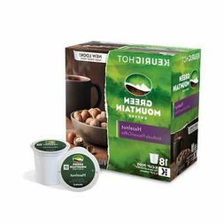 Green Mountain Coffee Roasters Half-Caff Hazelnut Coffee Box