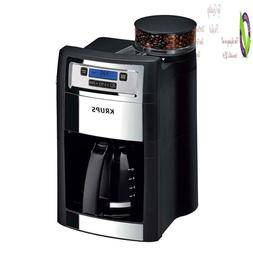 Krups Grind And Brew Auto-Start Coffee Maker With Builtin Bu