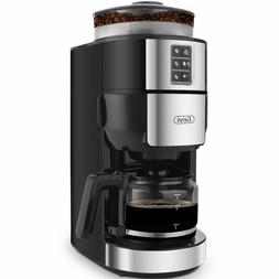 Grind and Brew Coffee Maker with Built-In Burr Coffee Grinde