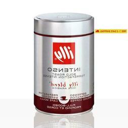 "illy ""intenso""Ground Coffee Dark Roast, 100% Arabica Coffee"