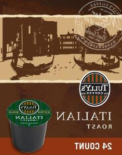 Tully's Italian Roast Coffee, K-cups, 24 ea