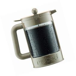Bodum K11683-133 Bean Ice Coffee Maker, 12 Cup/51 oz, Sand