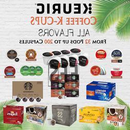 Keurig Coffee Kcups K Cups lot 32/42/50/72/100/200 Pods Ligh