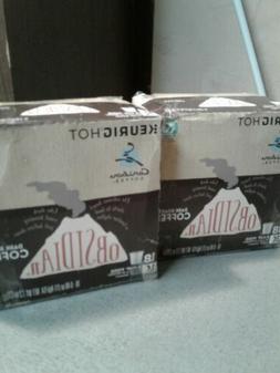 Caribou Coffee Keurig K-Cups OBSIDIAN 35 CT