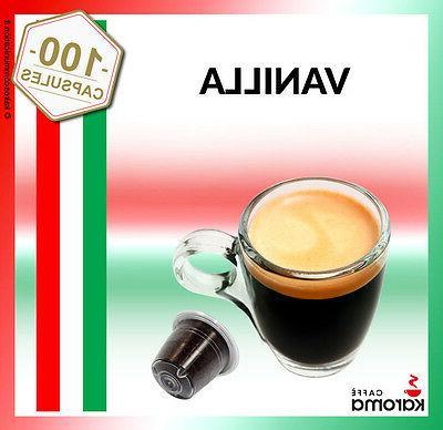 💯Karoma capsules Compatible Nespresso Machines