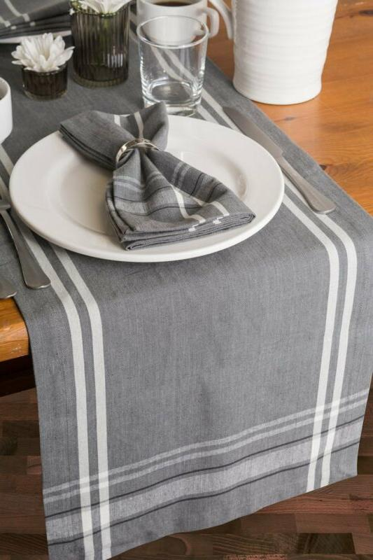 DII Washable, Kitchen Table Runner F