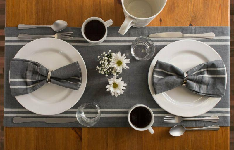 Washable, Everyday Kitchen Table Runner F