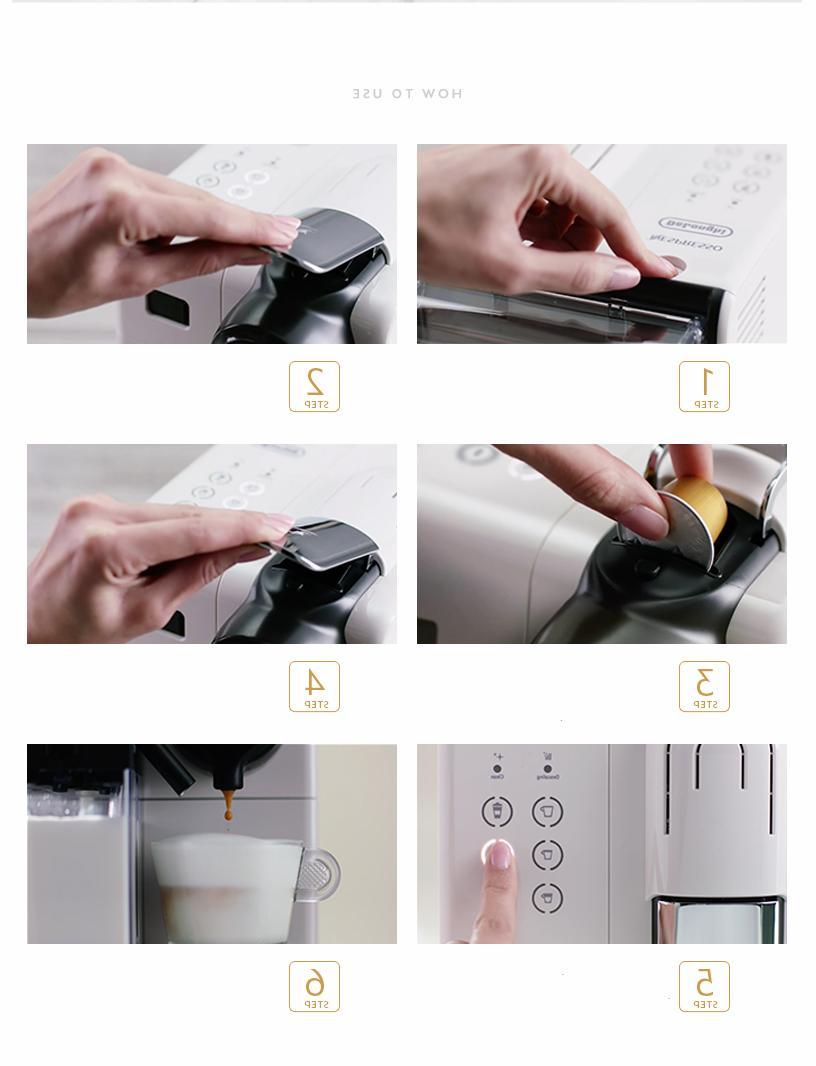 100%NEW Nespresso Lattissima Touch Silver machine BOX