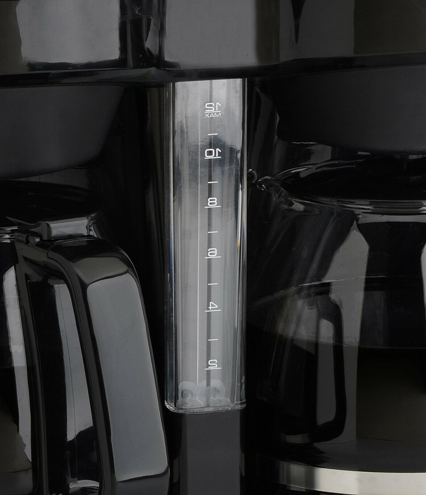 Coffee Maker Carafe Dual Pots Brewer Machine Kitchen