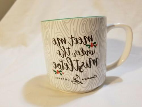 """Caribou Coffee Reindeer """"Meet Under Mistletoe!"""""""