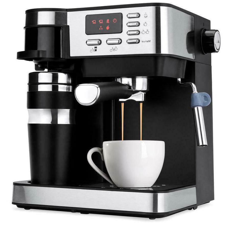 3 in 1 espresso coffee machine cappuccino