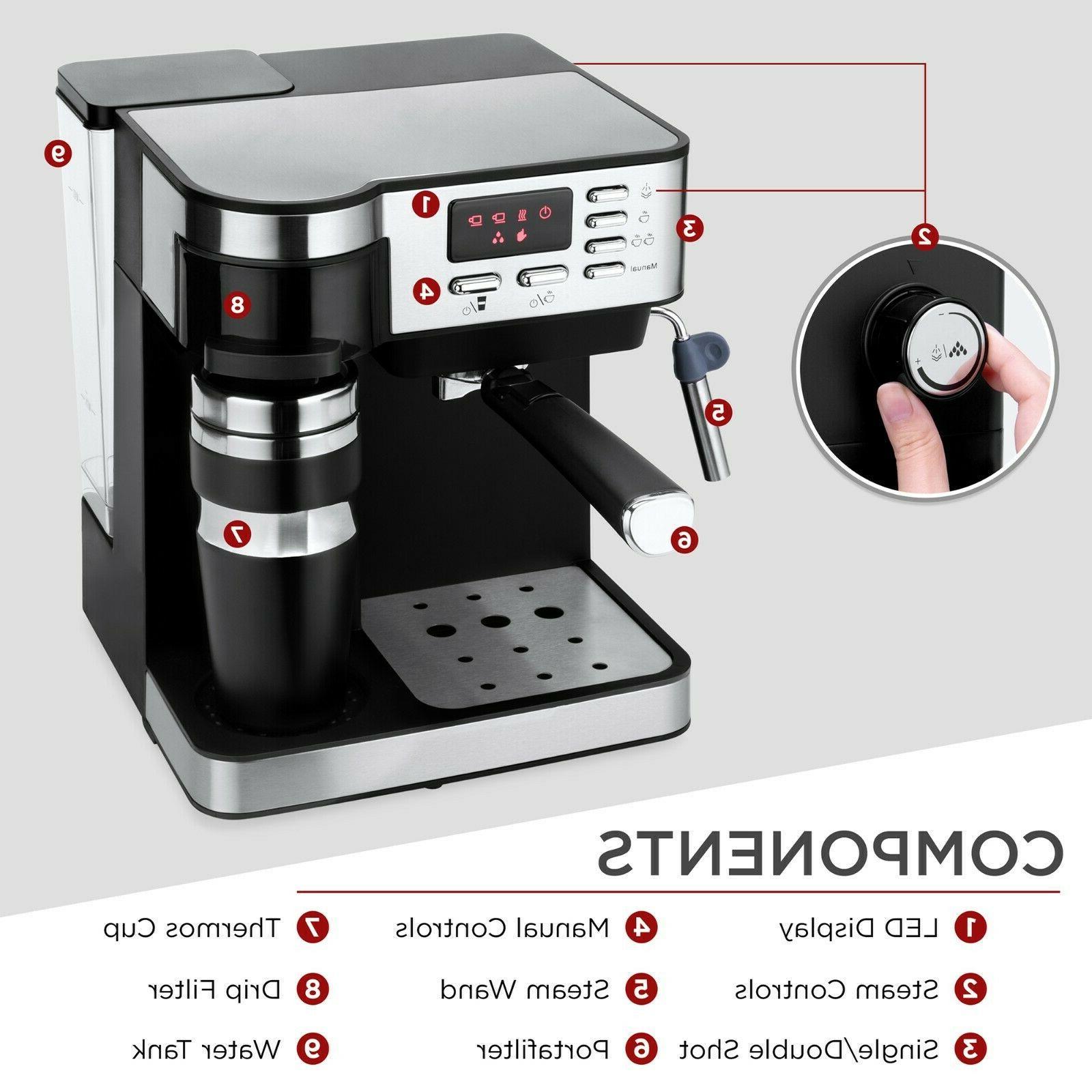 3-in-1 and Cappuccino Latte Machine