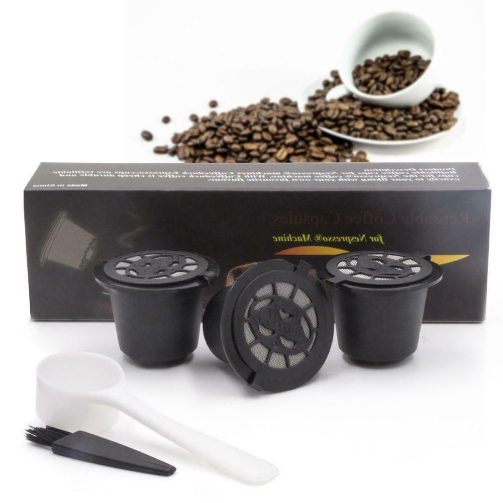 3pcs Coffee Filters Nespresso Machine