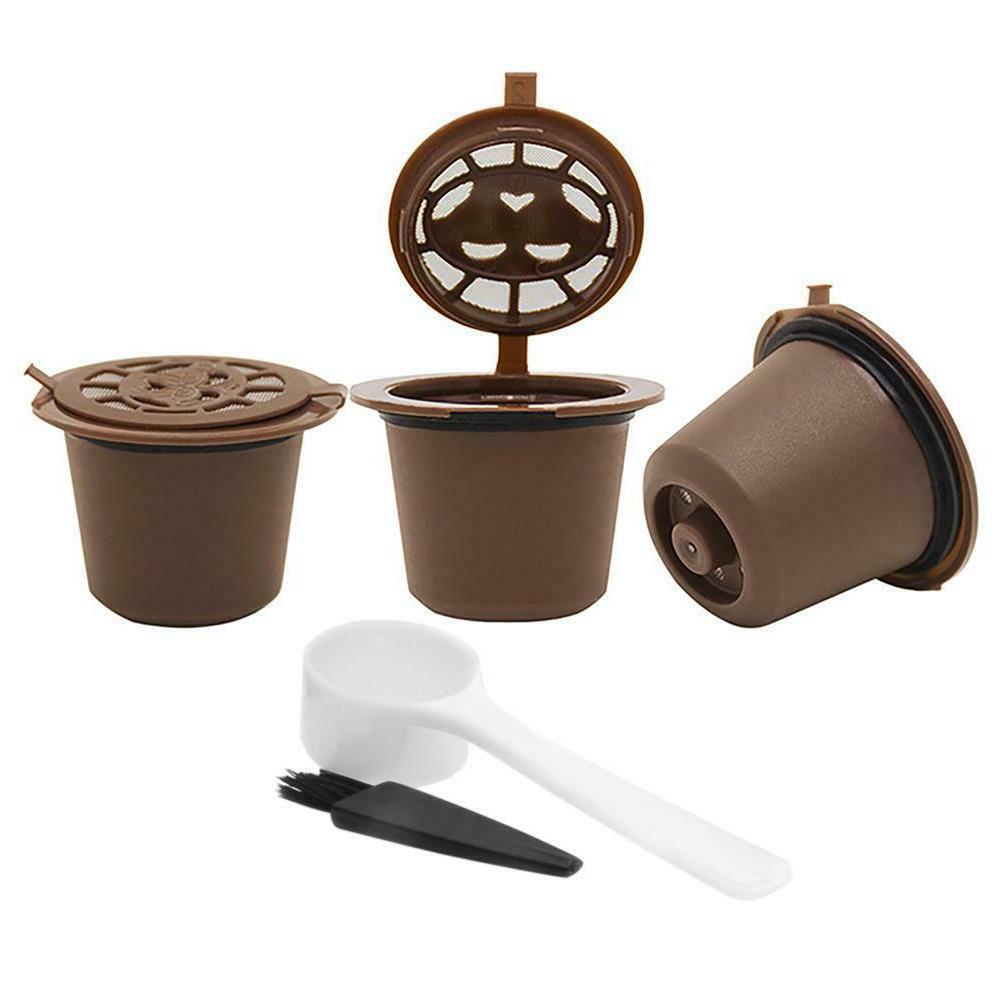 3pcs Refillable Coffee Nespresso Machine