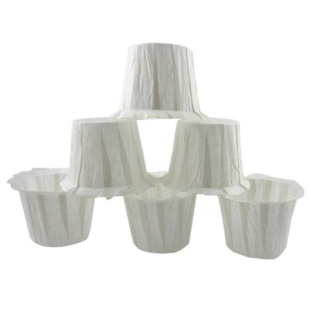 50pcs Disposable Coffee Filters Replacement Paper Cups