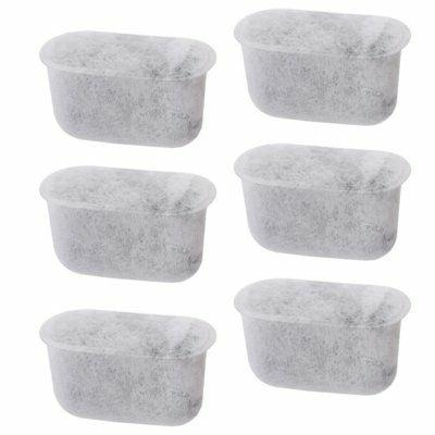 6 replacement charcoal water filters