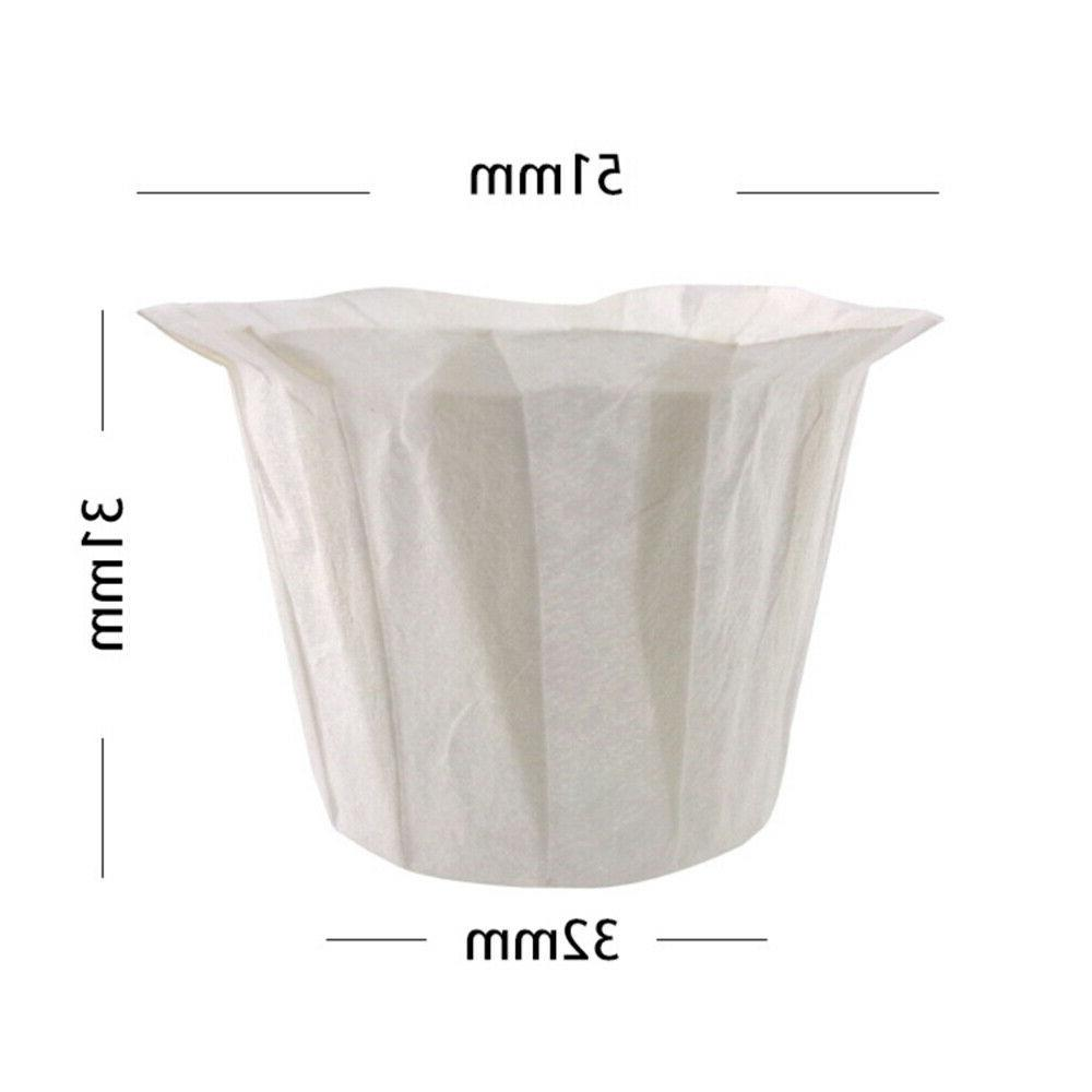 60pcs Filters Paper Cups for