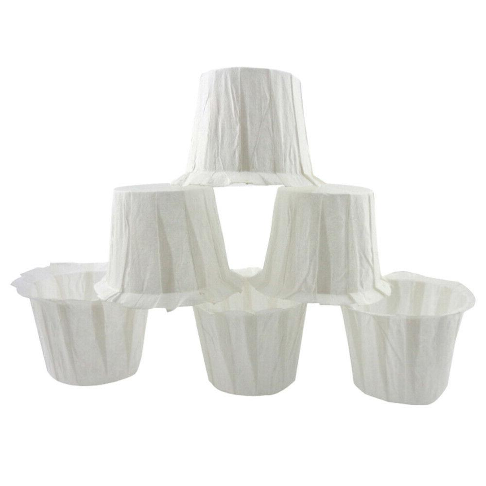 60pcs Disposable Coffee Filters Replacing Paper Cups