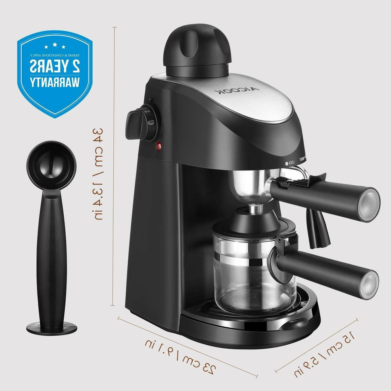 Home Espresso Machine Steam Frothing