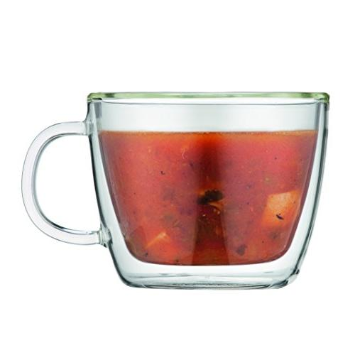 double wall L 15 oz Cafe Cup, Clear