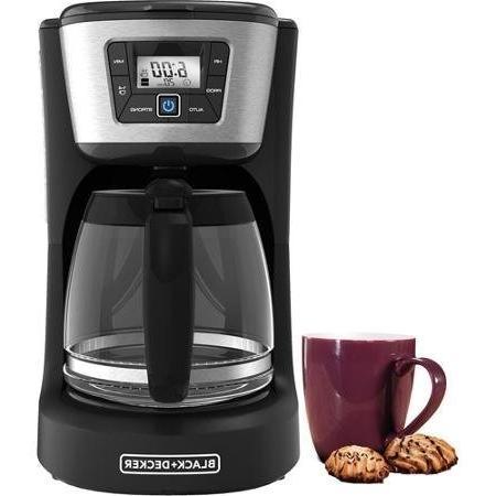 black decker programmable coffee maker