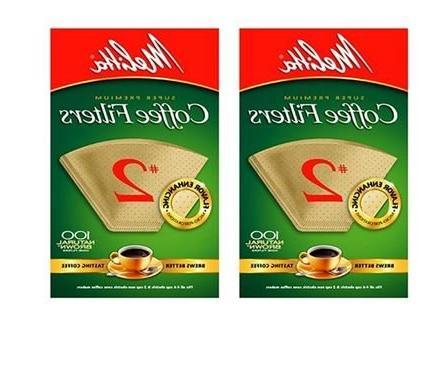 Melitta Natural Cone Coffee 2 -- per case.