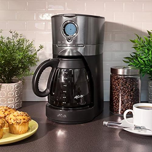 Mr. Black Stainless Coffee Maker