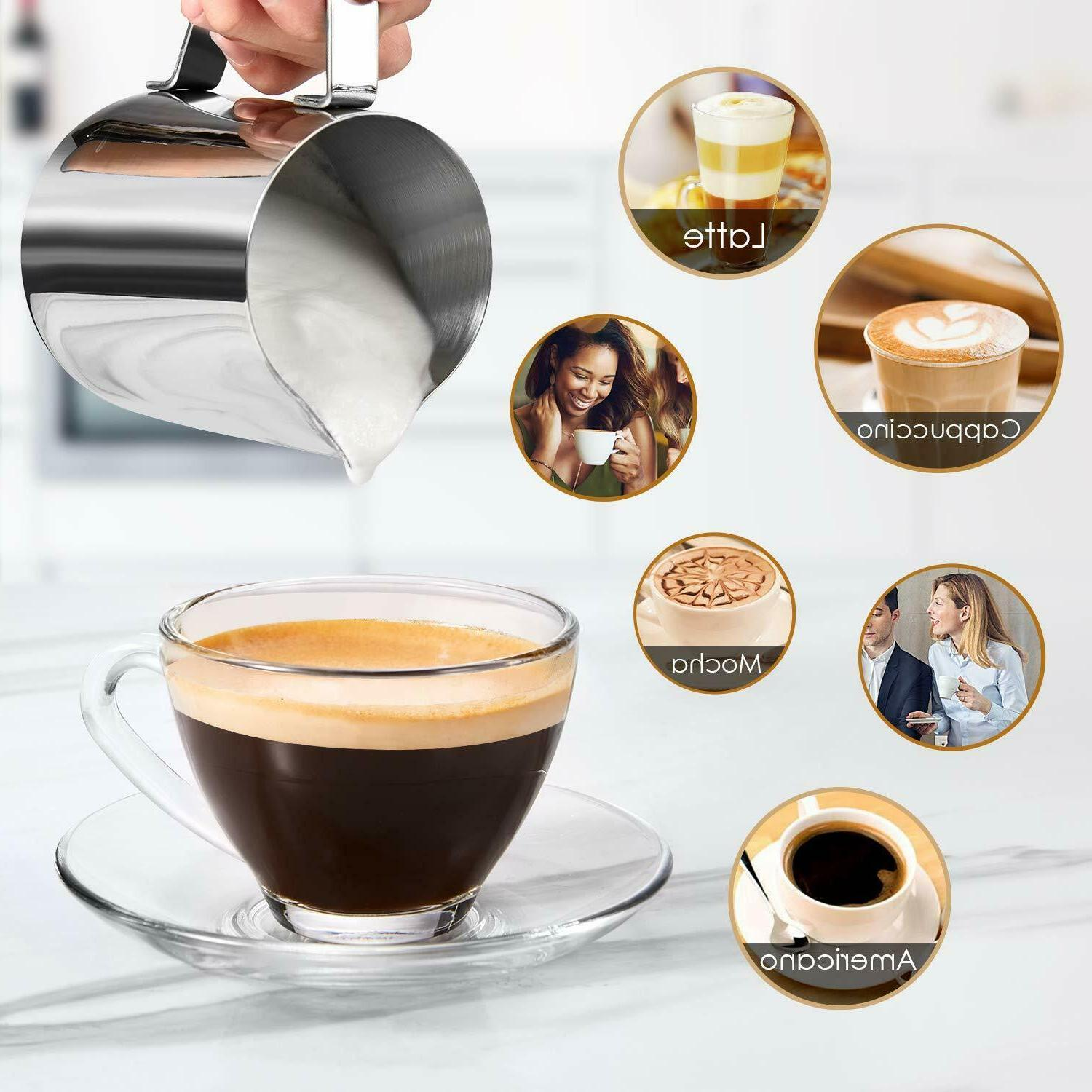 Home Expresso Latte Maker Steam Frothing
