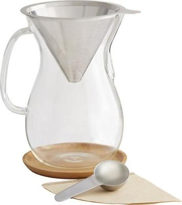 caribou 8 cup pour over coffee brewer