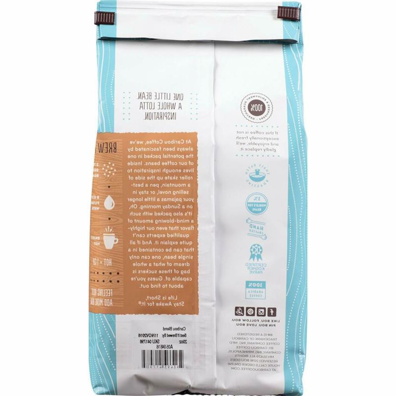Caribou Coffee, Ground, 20 Smooth