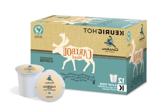 caribou blend single serve coffee k cup