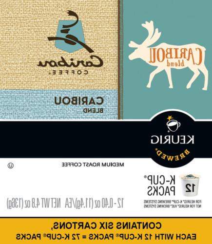 Caribou Caribou Single Coffee Pod, Medium of