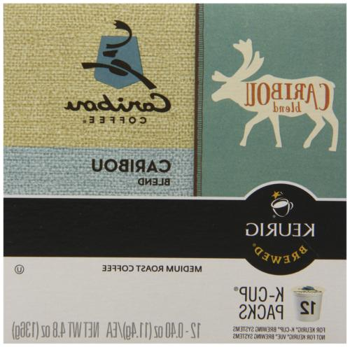Caribou Coffee Single Coffee Pod, of