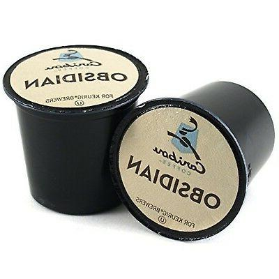 caribou obsidian coffee keurig k cups 36