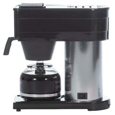 Coffee Machine Home 10 Cup Stainless