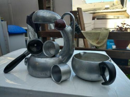 ATOMIC Coffee Cappuccino Machine 1940s Rare
