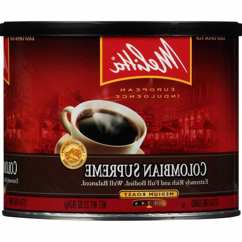 Melitta Coffee Ground, Medium Ounce
