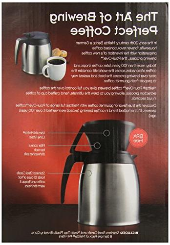 Melitta Cup with Stainless Thermal Carafe