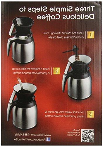 Melitta Coffee Cup with Carafe