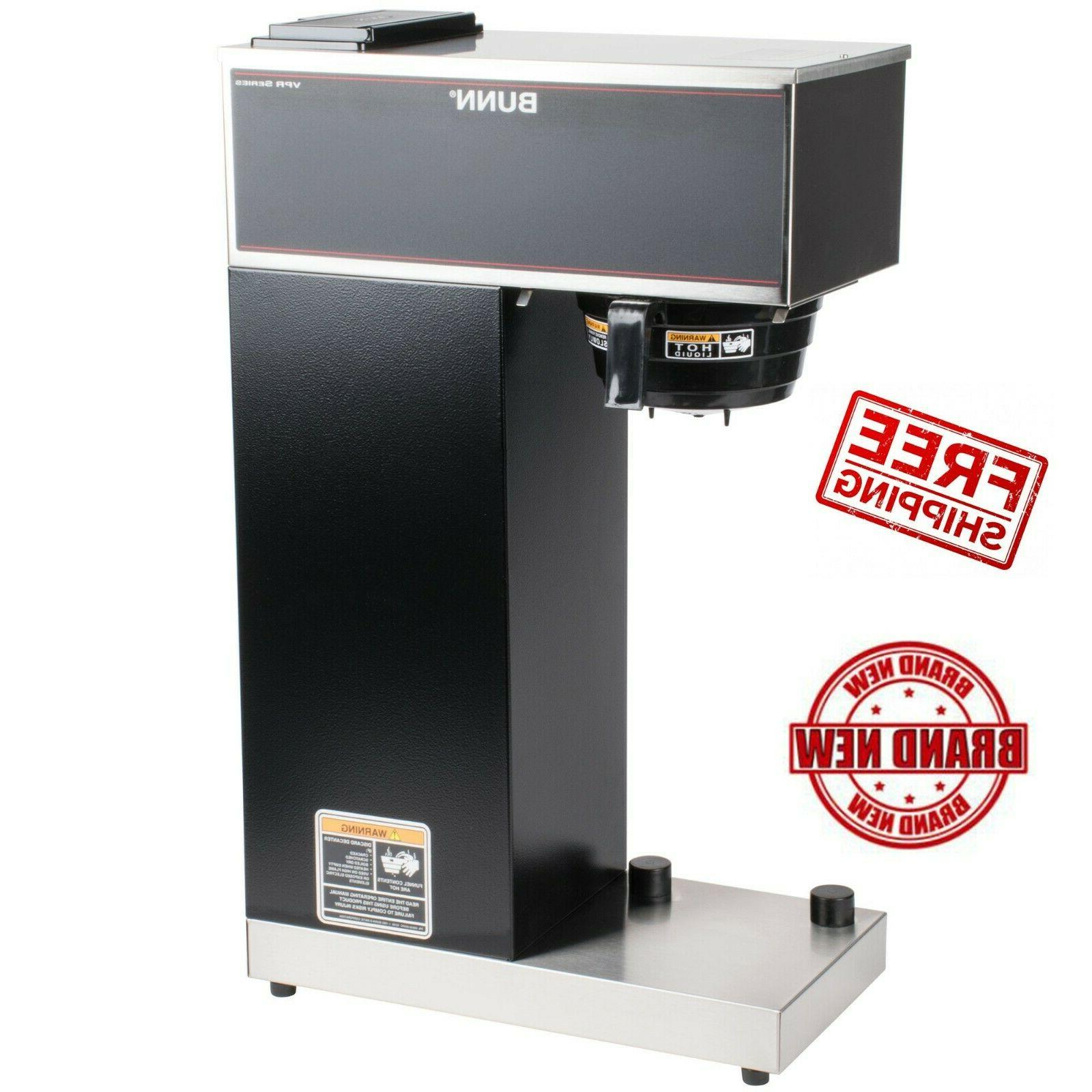 coffee maker with 2 2 airpot pourover