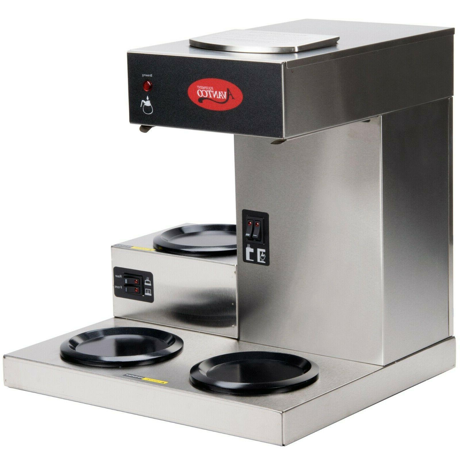 Commercial 3 Warmer 12 Cup