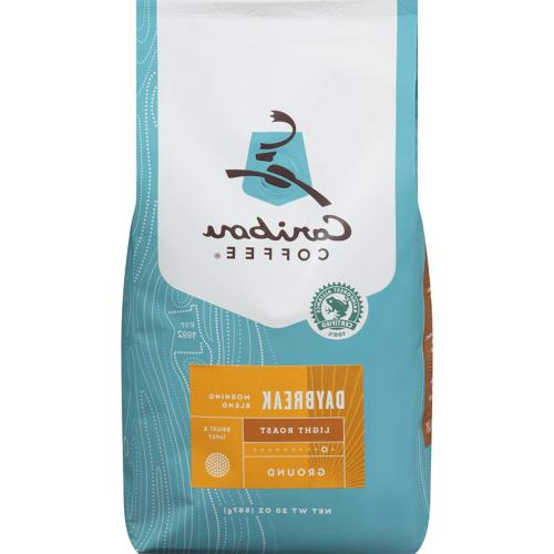 Caribou Coffee, Daybreak Morning Blend, Ground, 20 oz. Bag,