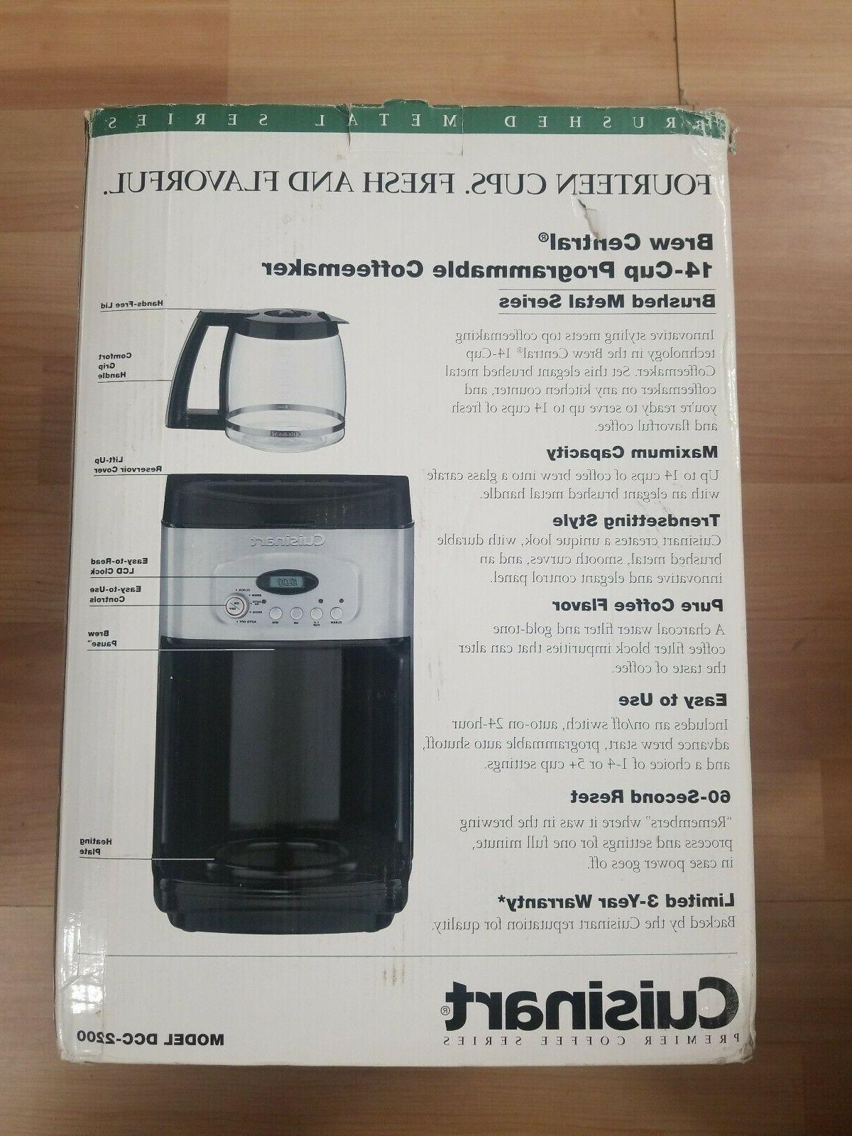Cuisinart DCC Central Black *FREE SHIPPING*