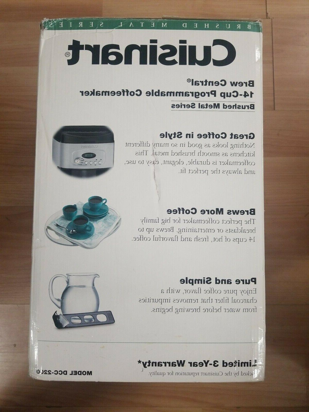 Cuisinart DCC Central Coffee Black *FREE SHIPPING*
