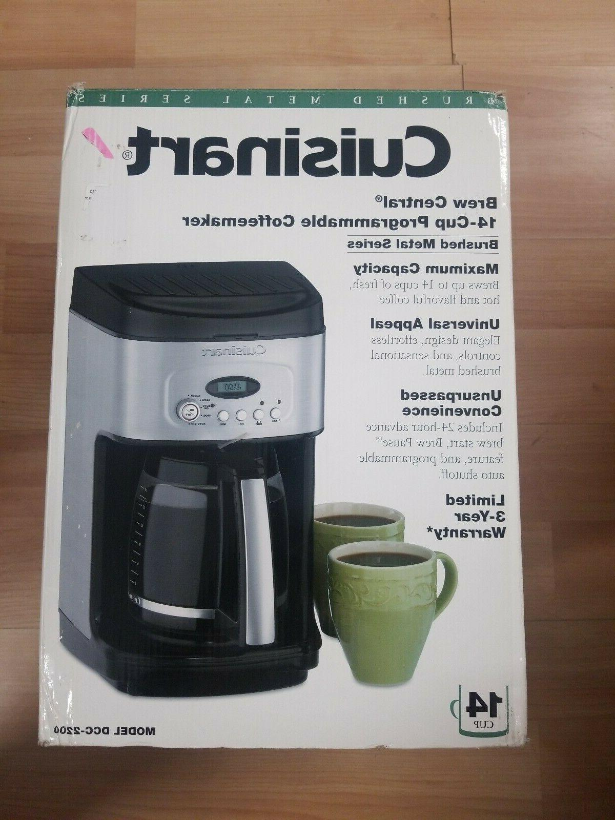 dcc 2200 brew central coffee machine black